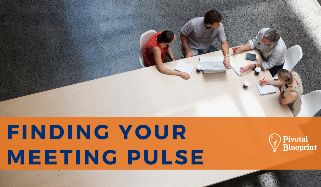 Finding Your Meeting Pulse Blog Image